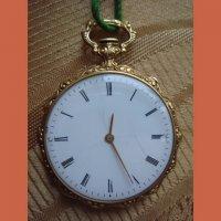 Часы карманные - золото.