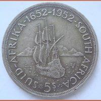 Английская монета 1952 г.