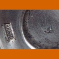 Две серебрянных стопки