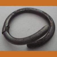 Височное кольцо, серебро