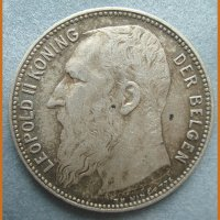 Монета 1Frank 1909год