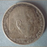 Монета 5 Reichs Mark 1936 год