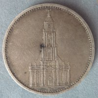 Монета 5 Reichs Mark 1934 год