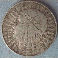 Монета 10 Zlotych 1933 год