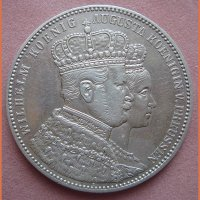 Талер 1861 год Пруссия
