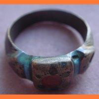 Перстень, эмали