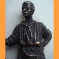 "Скульптура ""Кузнец"" бронза"