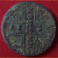 Монета копейка 1728 г.