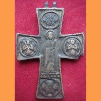 Крест, бронза
