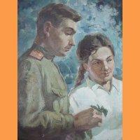 Дмитриевский Виктор Константинович (Россия, 1923–2006) «Весной» 1958