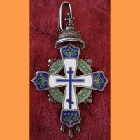 Наперсный крест для священнослужителей, В память 300-я Дома Романовых, 1913 год