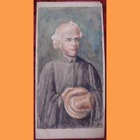 """Рисунок """"Мужчина в шляпе"""" А. Самокиш"""