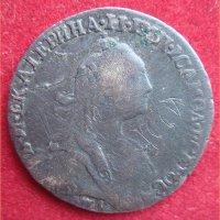 Монета Гривенник 1769 года