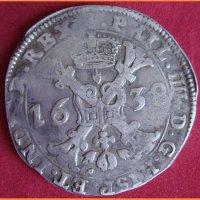 Талер Патагон Испанские Нидерланды 1638 год
