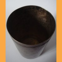 Стакан серебро 84 пробы