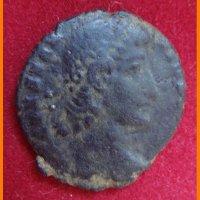 Монета Рим с надписью