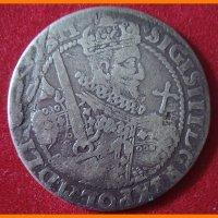 Монета Орт 1622 года