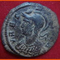 Монета Италии 1 фоллис (Ромулус, Рему и Волчица)