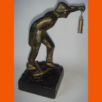 Скульптура Шахтер
