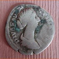Монета Денарий Фаустина Старшая