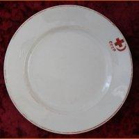 Тарелка столовая агитационная