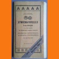 Нумизматические таблицы  к собиранию редких монет  с 1425-1916 гг.