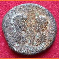 Монета Фракия Гордиан III и Транквилиана