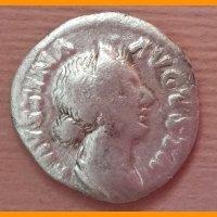 Денарий Фаустина II   161-170 гг.