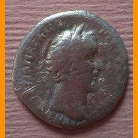 Денарий Антонин Пий 138-161 гг