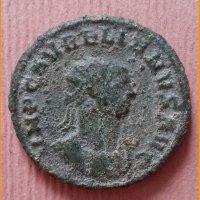 Монета  Антониниан  Аврелиан 270-275 гг.