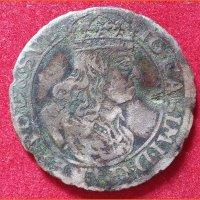 Монета Шостак (6 грошей) 1661 года