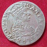 Монета Грош 1661 года