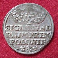 Монета 1 грош 1528 года