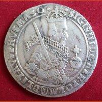 Монета Талер Сигизмунд III 1630 год