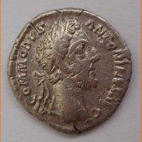 Денарий Римская империя Коммод 181 г.