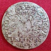 Монета 1/12 талера 1692 г.