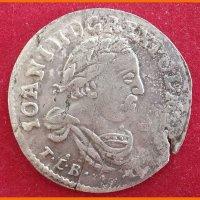 Монета 6 грош 1683 года Польша, Бромберг