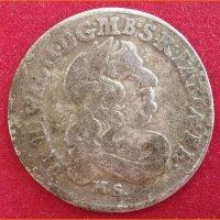 Монета 6 грошей Бранденбург  1682 г. HS