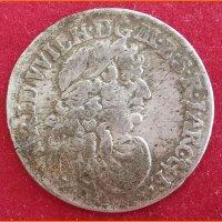 Монета 6 грошей Бранденбург 1683 г. HS Кёнигсберг