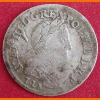 Монета  6 грошей, Ян III Собеский, 1681 г.