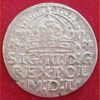 Монета Грош коронный  1613 год