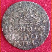 Монета Коронный  грош 1624 года