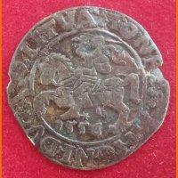 Монета ½ гроша 1556 год