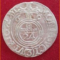 Монета Полторак 1669 год