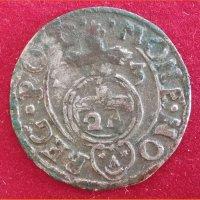 Монета Потлорак 1623 года