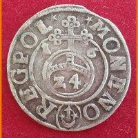 Монета Потлорак 1616 года