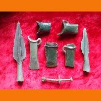 Комплект боевого оружия бронзового века