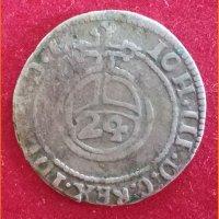 Монета Польша. Ян III Собесский (1674-1696)