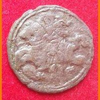 Монета Двуденарий 1621 год