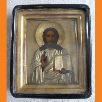 Икона Иисус Христос  серебро 84 проба